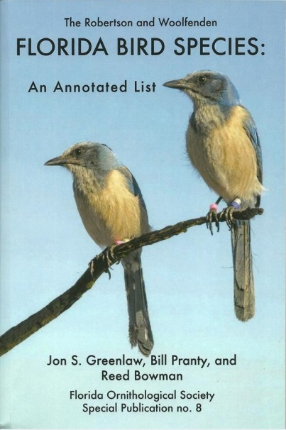 The Robertson and Woolfenden Florida Bird Species - Click to Enlarge